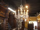 A Beautiful Irish 19th Century 8 Light Crystal Chandelier