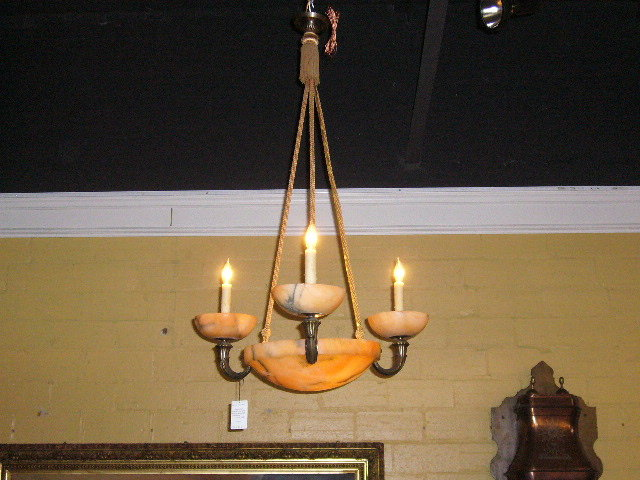 A Decorative French Chandelier