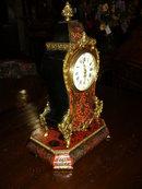 A Very Nice Napoleon III Boulle Bracket Mantel Clock