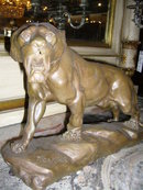 A Fantastic Bronze Lion sculpture