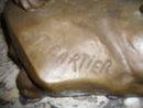 A Fantastic Bronze Lion sculpture