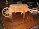 A rare and adorable French wheel barrow