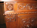 A handsome Italian Renaissance carved walnut buffet