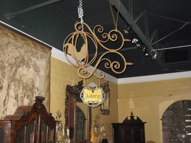"A special French iron ""Inn sign"""