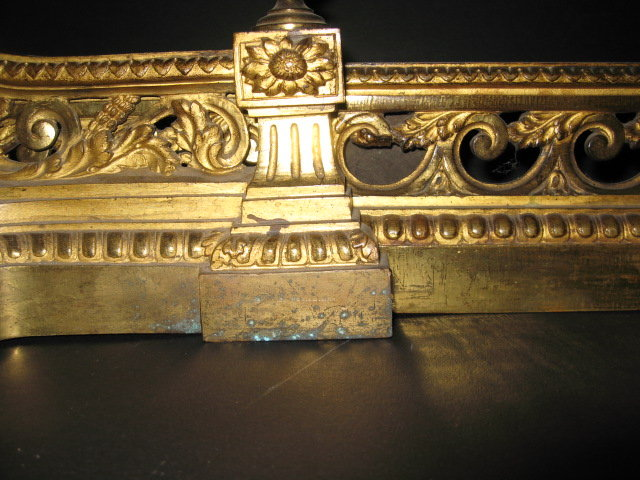 French Bronze Chenet