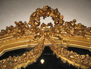 19th Century French Louis XVI Gold Gilded Majestic Mirror