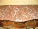 19th Century French Bombe Commode with Bronze Mounts and Marble Top Circa 1870
