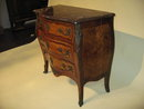 19th century French Louis XV marquetry inlaid commode