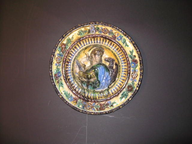 Marvelous Italian Charger Plate