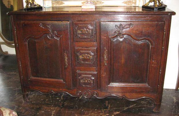 Magnificent French Oak Buffet