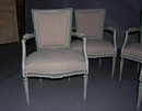 Set of 4 Swedish Antique Armchairs