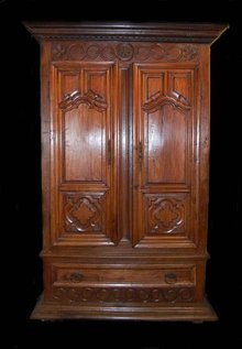 Handsome 18th Century French Armoire