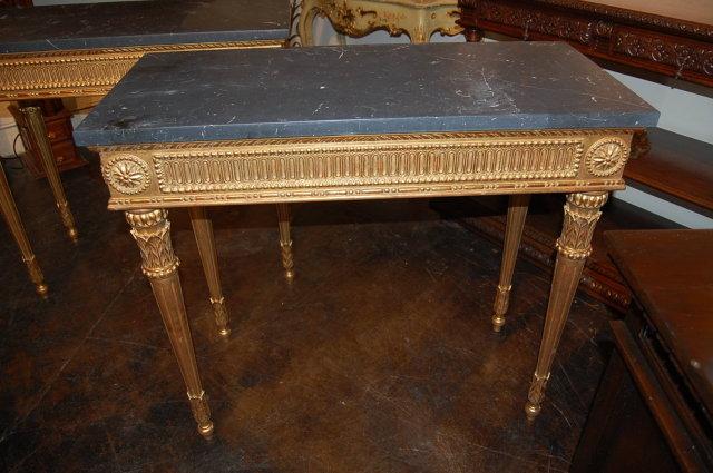 Superb Pair of Louis XVI Consoles