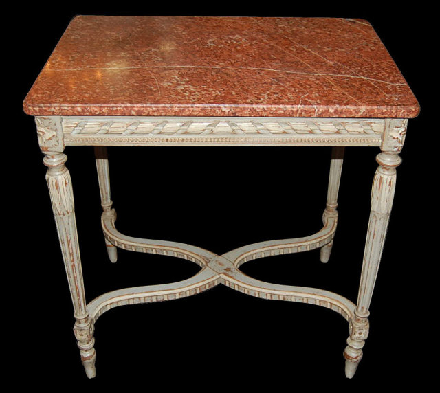 French Louis XVI Salon Table