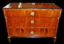19th Century Biedermeier Walnut Commode