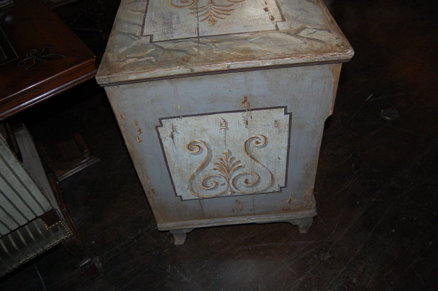19th Century Neo-Classical Painted Commode