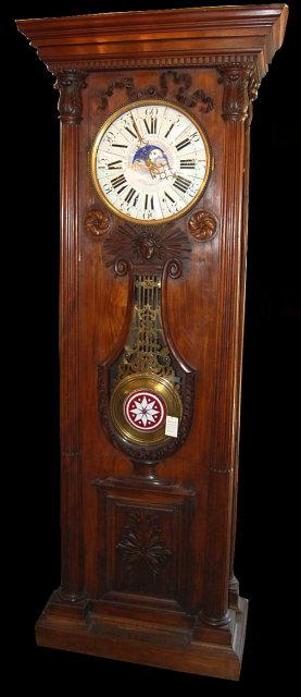 Impressive French Chateau Clock