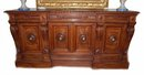 Heavily Carved Renaissance Sideboard