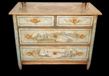 Decorative Hand Painted Commode