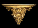 French Gilded Wood Wall Bracket