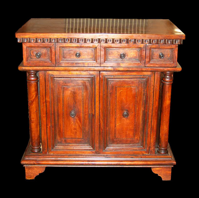 Italian Style Carved Alder Chest