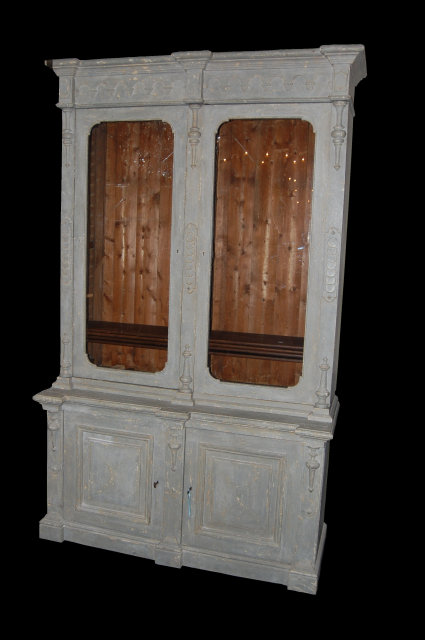 19th Century Swiss Bookcase