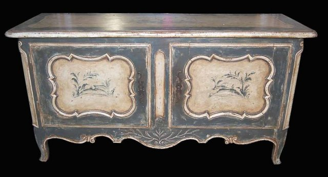 19th Century French Painted Buffet