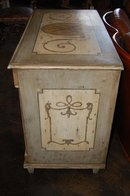 Hand Painted Continental Commode