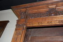 19th Century French Carved Bookcase