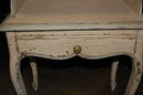 Pair of French Painted Side Tables