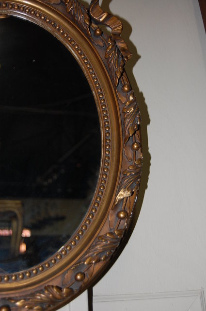 Petite Louis XV Gilt Mirror