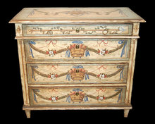 Continental Neo-Classical Painted Commode
