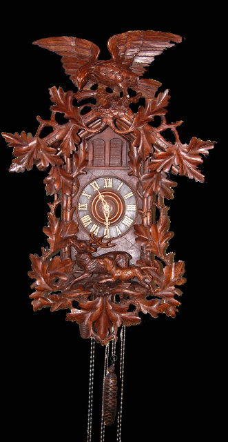 Superb Black Forest Cuckoo Clock