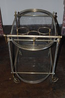 French Bronze Tea Cart