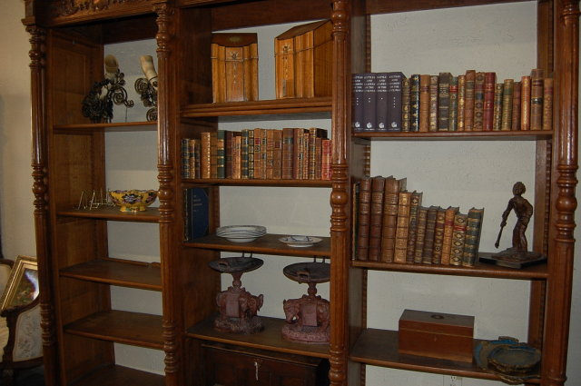 Superb 19th Century Continental Bookcase