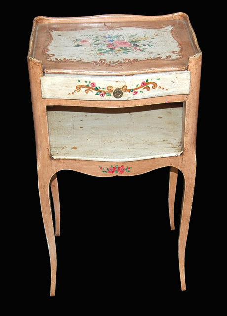 Venetian Design Painted Stand