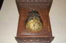 Oak Country French Longcase Clock