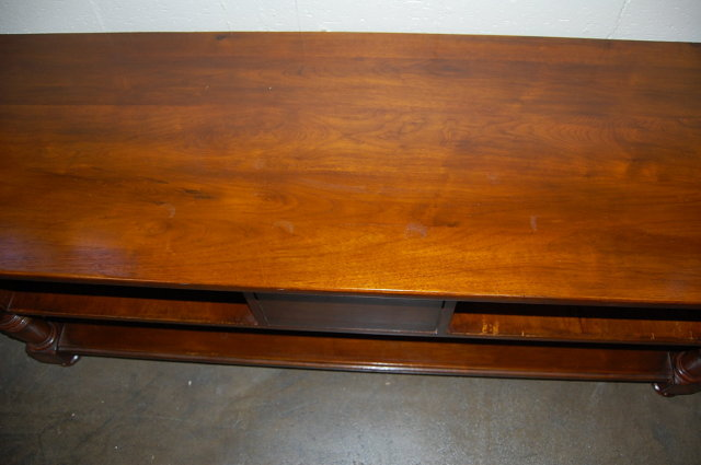 Custom Made Walnut TV Table