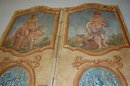 Pair of Decorative French Painted Panels