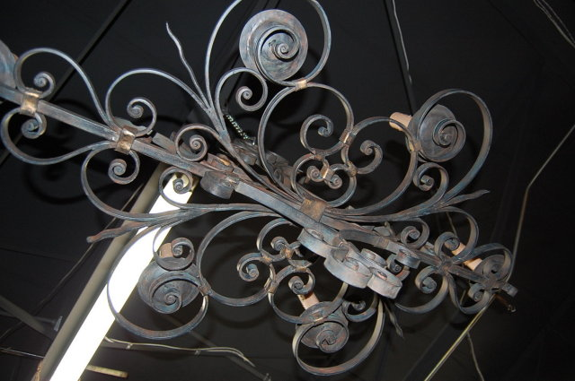 Heavy Iron French Style Chandelier