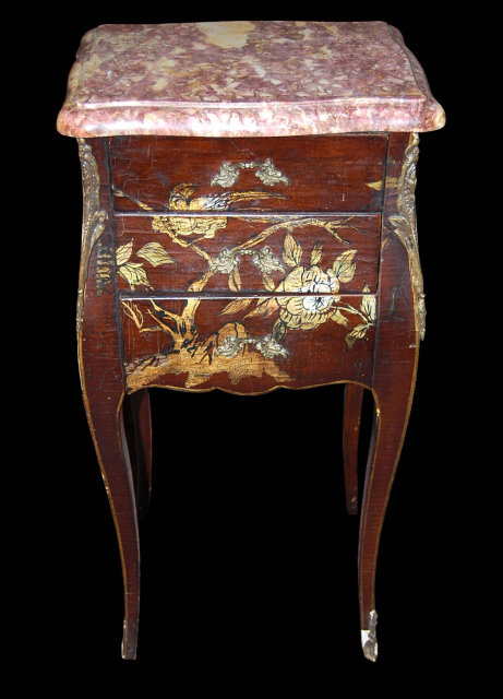 19th Century French Marble Top Stand