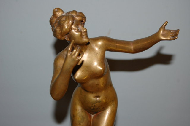 19th Century Italian Bronze Nude