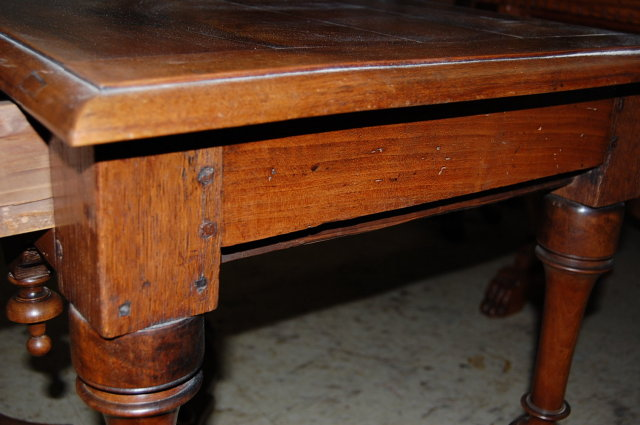 19th Century French Walnut Table