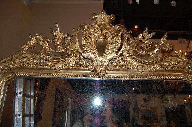 19th Century French Gilded Louis XVI Mirror