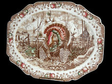 English Johnson Brothers Turkey Platter