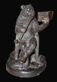 Whimsical Bronze Bear