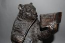 Whimsical Bronze Bear