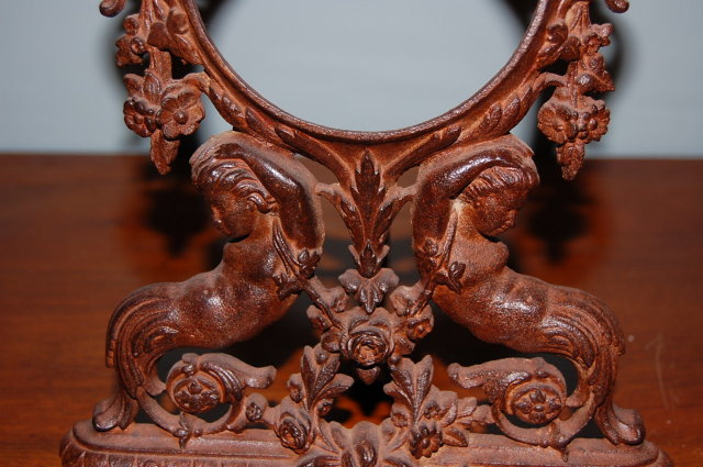 Unusual French Iron Frame