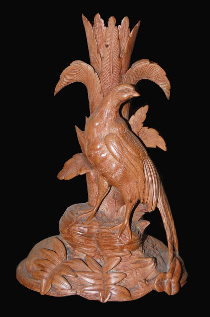 Swiss Finely Carved Bird