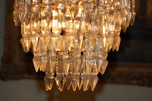 Superb Pair of Crystal Fixtures